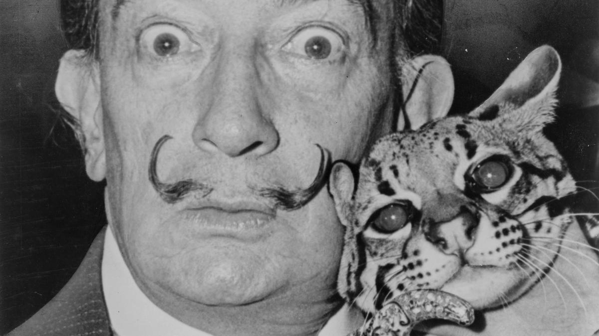 best mustaches dali
