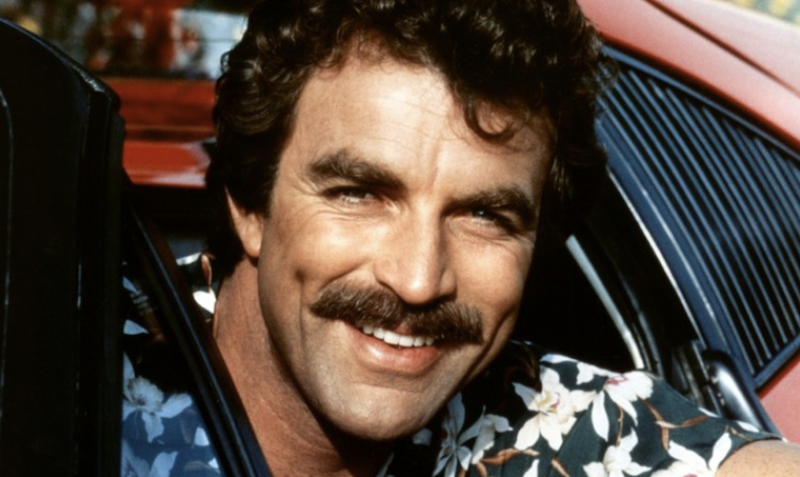 best mustaches tom selleck