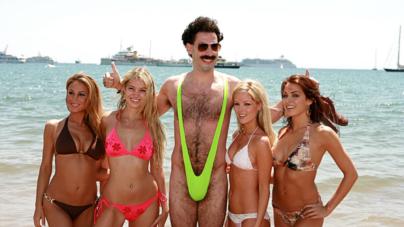 best mustaches borat