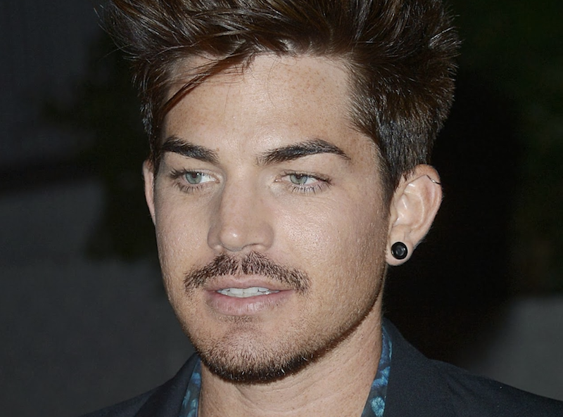 best mustaches adam lambert