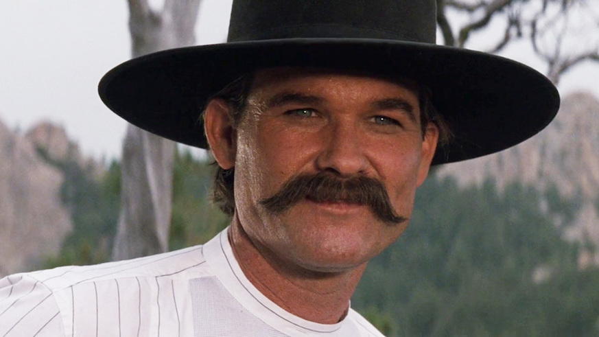 best mustaches kurt russell