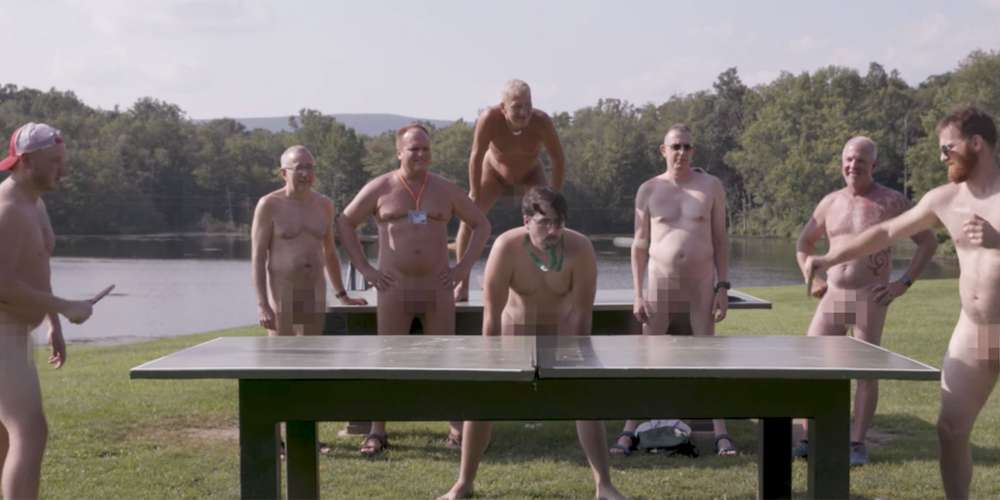 The Liberal Redneck Surprised His Straight Pals by Taking Them to a Gay Nudist Camp (Video)