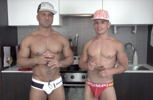 Brent Everett Steve Peña, gay porn couple