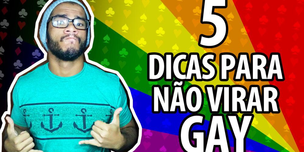 5 dicas para não virar gay. Confira o novo vídeo dos Valetes.