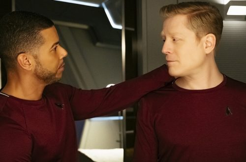 Star Trek gay kiss