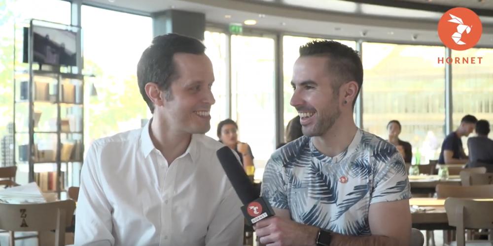 Campagne Hornet «Ma vie, mon appli»: Christian et Aïssa, les mini-interviews