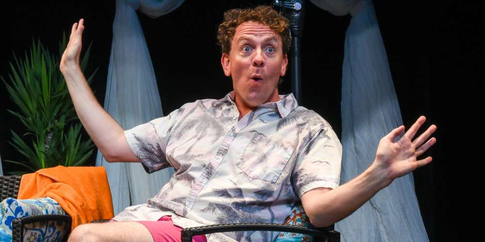 Drew Droege's Drunken Yet Heartfelt Camp Comedy 'Bright Colors And Bold Patterns' Returns to New York