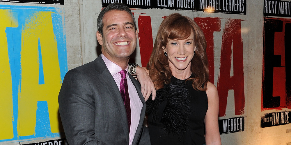 Andy Cohen's Sex Life Is the Next Topic Kathy Griffin Is Dragging on Social Media