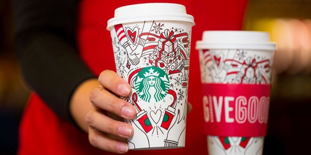 Starbucks Put a Lesbian Couple in a Holiday Ad and Conservative Christians Are Flipping Out