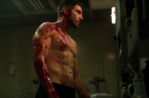 Jon Bernthal shirtless 01, The Punisher 01