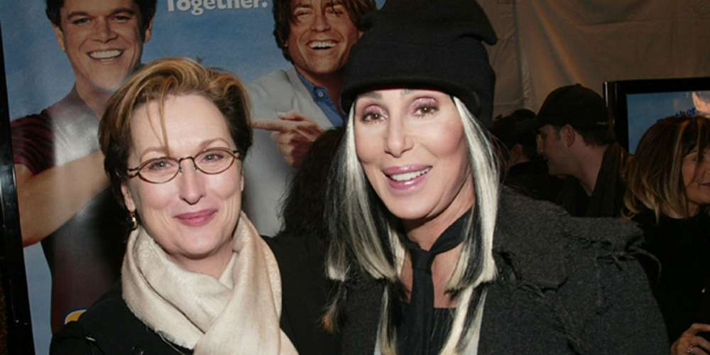 Cher Once Saw Meryl Streep Go 'Completely Nuts' and Save a Woman From a Male Attacker