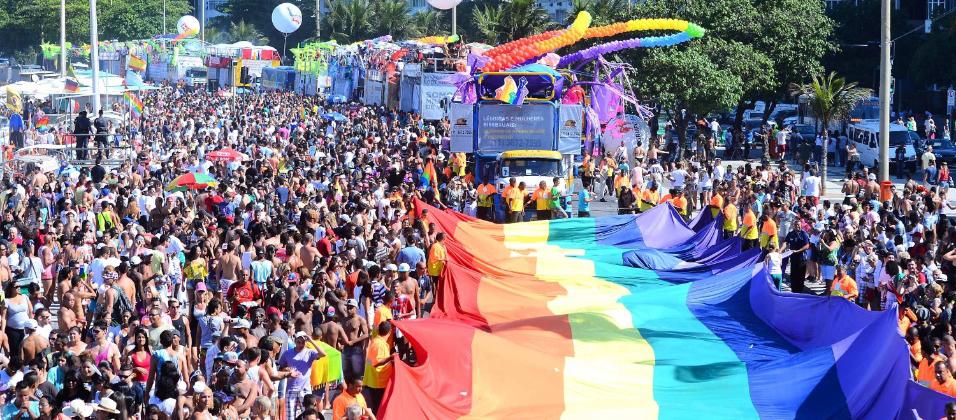 Veja o que rolou na 22ª Parada do Orgulho LGBT do Rio
