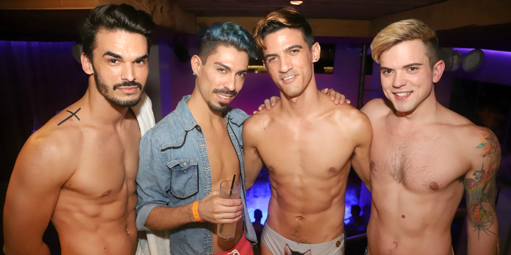 #HornetNYC Photos: Guy Social's 'Saturday Night Swim' at Grace Hotel