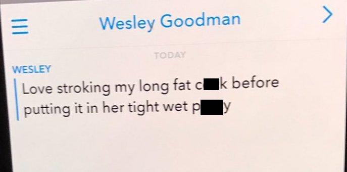 Wes Goodman sexts 05
