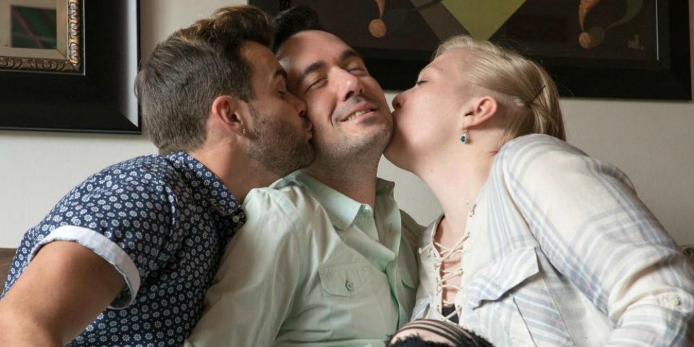Here's What Happened After a New York Gay Couple Added a Woman to Their Relationship