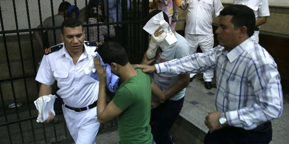 14 Men Have Been Sentenced to 3 Years in Prison for Homosexuality in Egypt