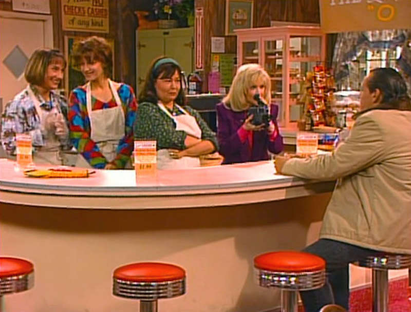 golden girls cafe roseanne