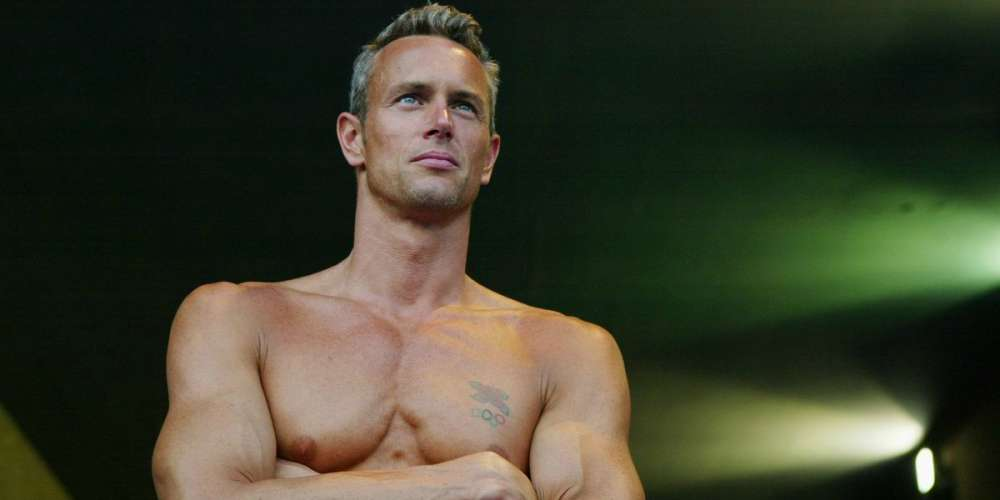 10 Shots of Newly Out Olympic Swimmer and Silver Fox Mark Foster That'll Leave You Dripping Wet