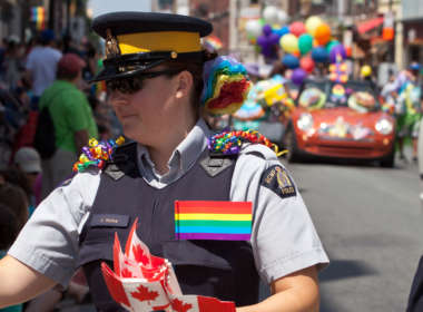 vancouver pride police