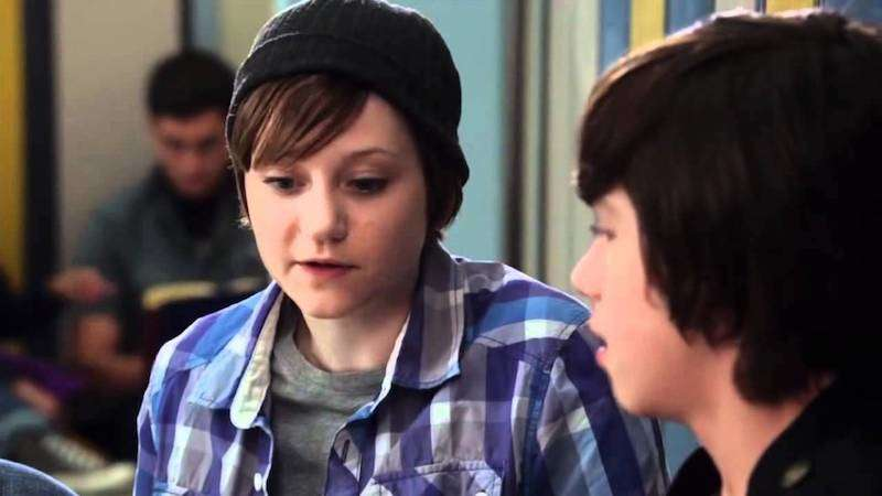 Jordan Todosey as Adam Torres in Degrassi, trans male TV characters 09