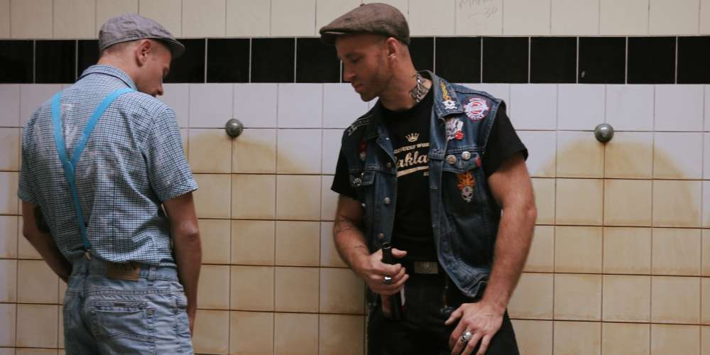 This New Museum Exhibition Is All About Sexy Dirty Gay Hookups in Public Toilets (Photos)
