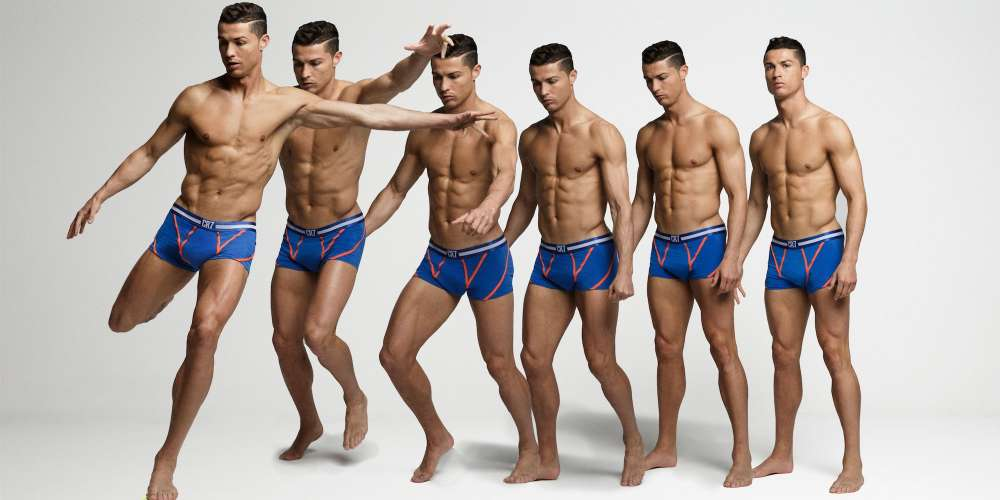 This Week's Must-Haves: Cristiano Ronaldo Briefs, Saint Laurent Leather Paddles & a Justin Trudeau Calendar