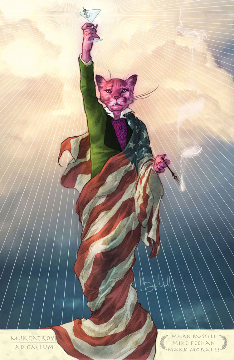 snagglepuss comic issue 1 cover