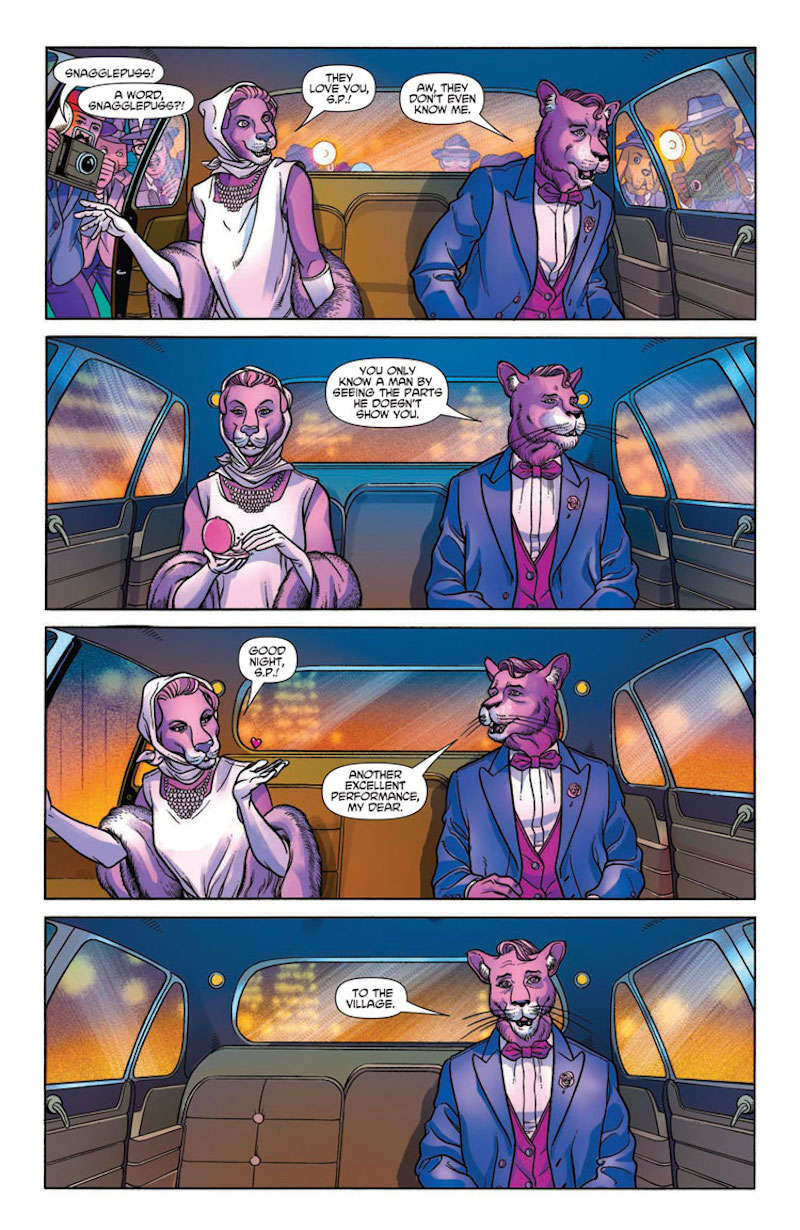 snagglepuss comic interior issue 1