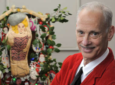john waters christmas card feat