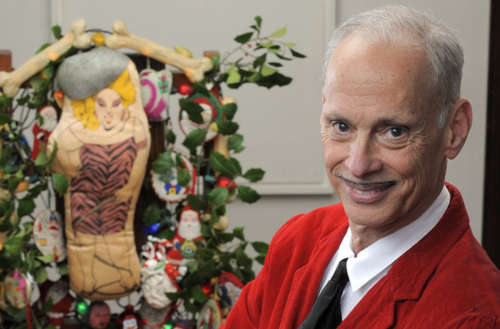 john waters christmas card feat - John Waters Christmas