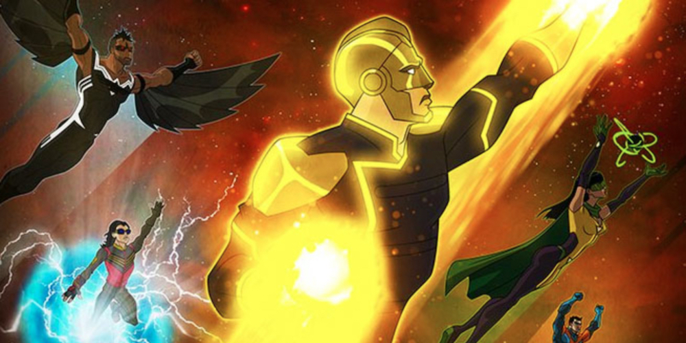 Here's a Peek at the New CW Animated Series Featuring a Gay, Nazi-Fighting Superhero