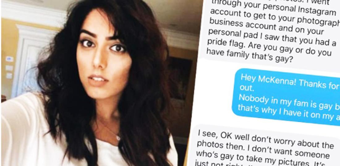 Mulher grávida cancela fotos ao descobrir que fotógrafa era lésbica