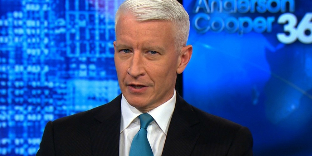 After Sending Out a Very Anti-Trump Tweet, Anderson Cooper Claims He Was Hacked