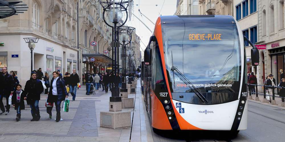 tram Genève