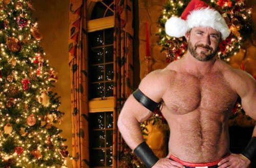 presente erótico natal santa