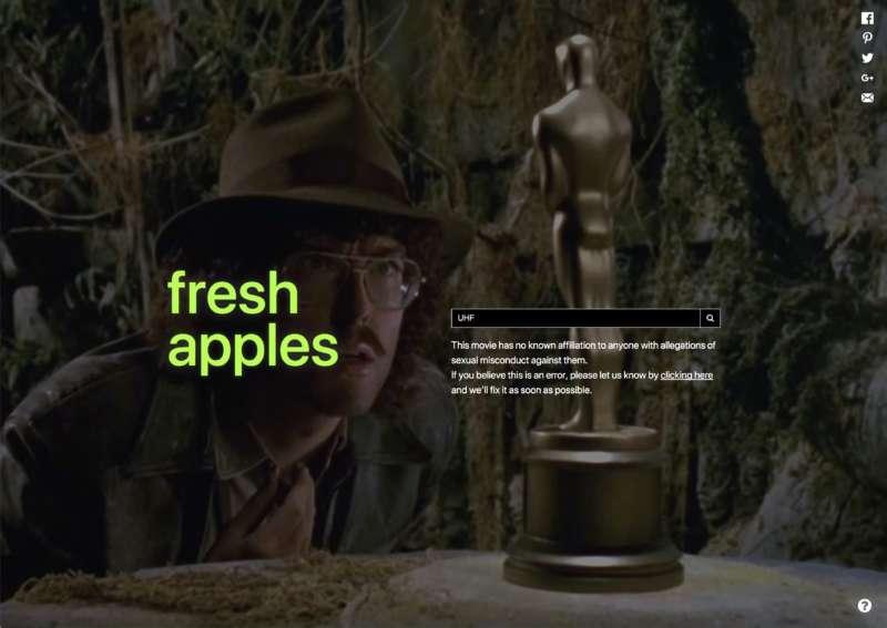 rotten apples UHF