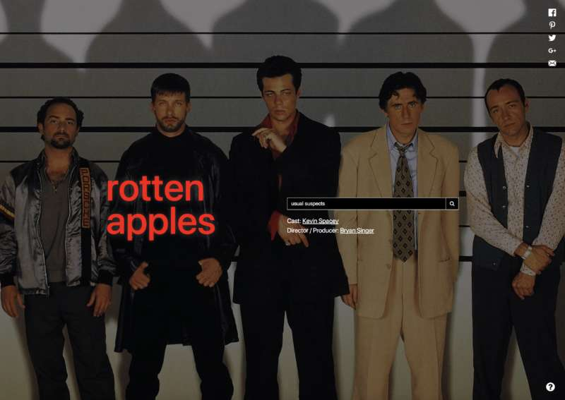 rotten apples usual suspects