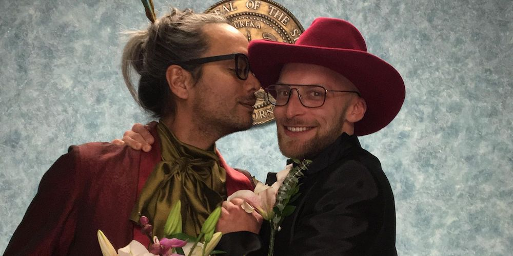 Exclusive: Inside 'Drag Race' Legend Raja's Surprise L.A. Wedding (Photos)