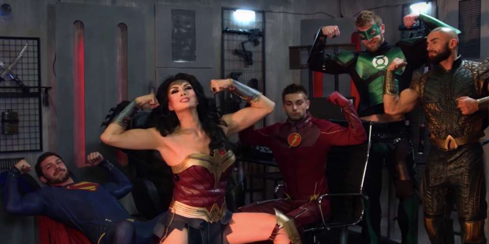 Manila Luzon Serves Up Wonder Woman in This Porn-tastic ...