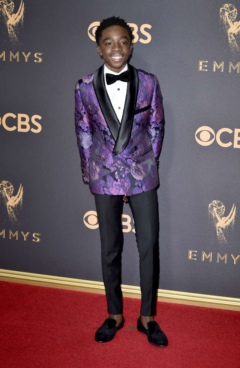 caleb mclaughlin red carpet looks