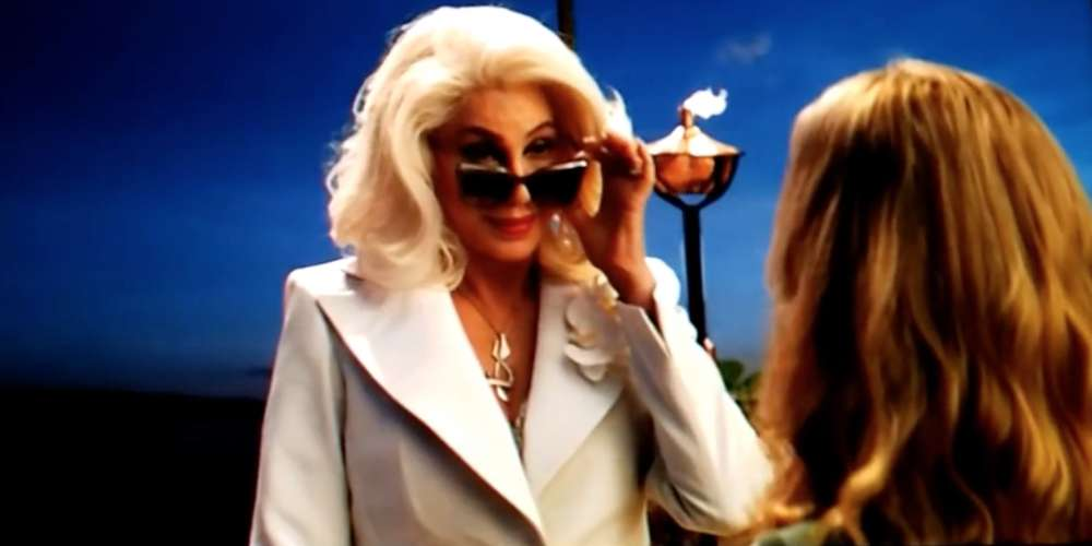 Cher Touches Down In Leaked New Trailer for 'Mamma Mia 2'