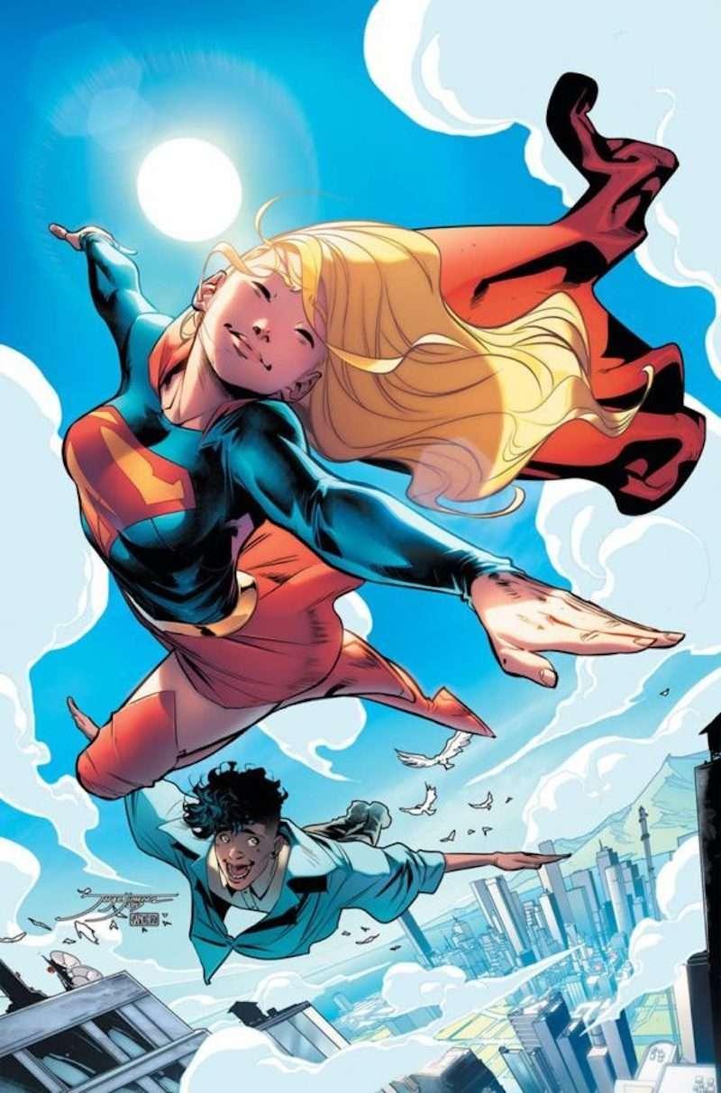 Supergirl non-binary 01