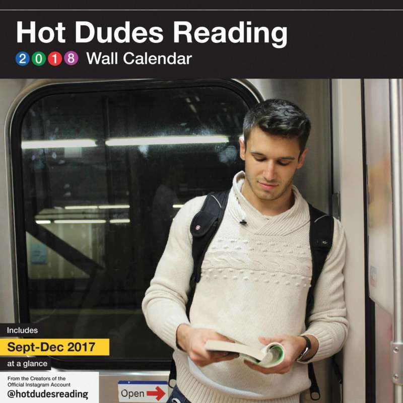 sexy calendars hot dudes reading