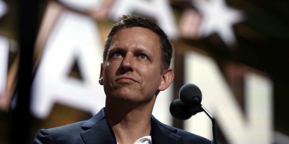 In 2018, Let's Hope Peter Thiel Crawls Back Under a Rock