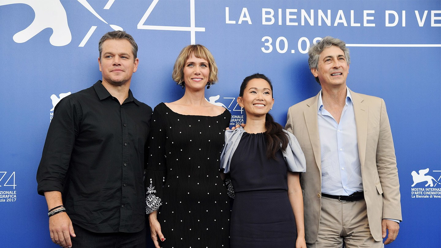 downsizing cast venice