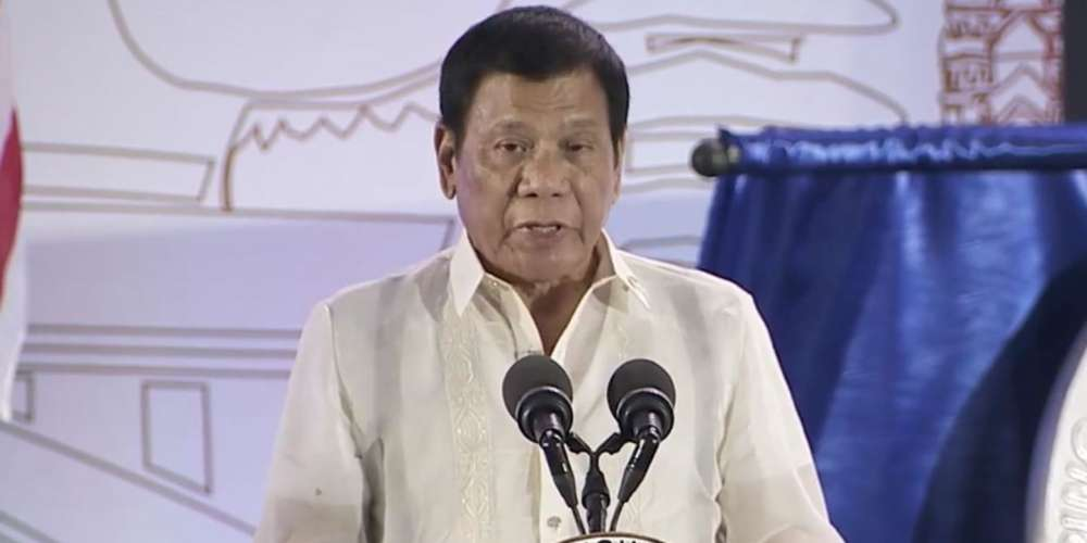 Philippines President Duterte Says He Once Thought He Was Bi or Trans