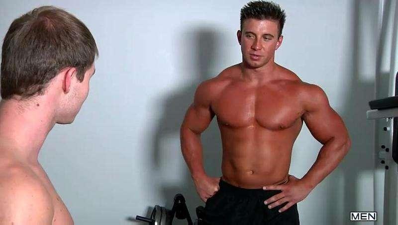 Tyler St. James 01, gay porn star steroids 01