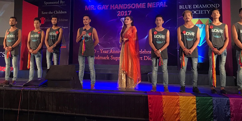 Mr. Gay Handsome Nepal Just Crowned Its 2017 Winner, Revealing the Country's Pro-LGBTQ Politics