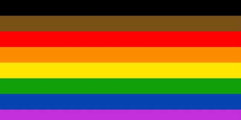 2017 LGBT News Philly Pride Flag