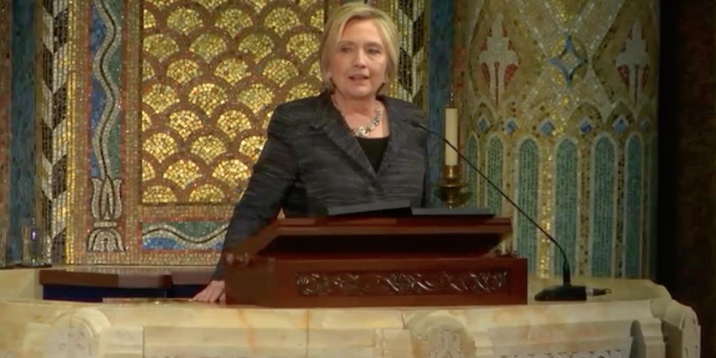 2017 LGBT News Hillary Clinton Edie Windsor